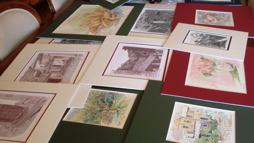 Mostra di grafica e acquerelli